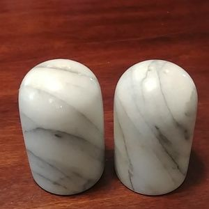 Awesome natural marble stone shakers